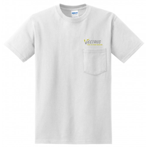 Gildan® - Ultra Cotton® 100% Cotton T-Shirt with Pocket