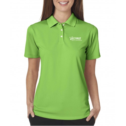 Ladies Performance Textured Polo