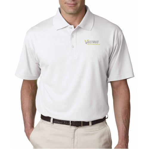 Men's Performance Textured Polo