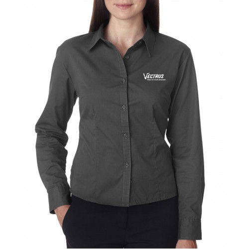 Ladies Long Sleeve Twill Shirt